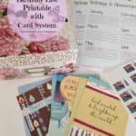 Birthday Organization System and Printable