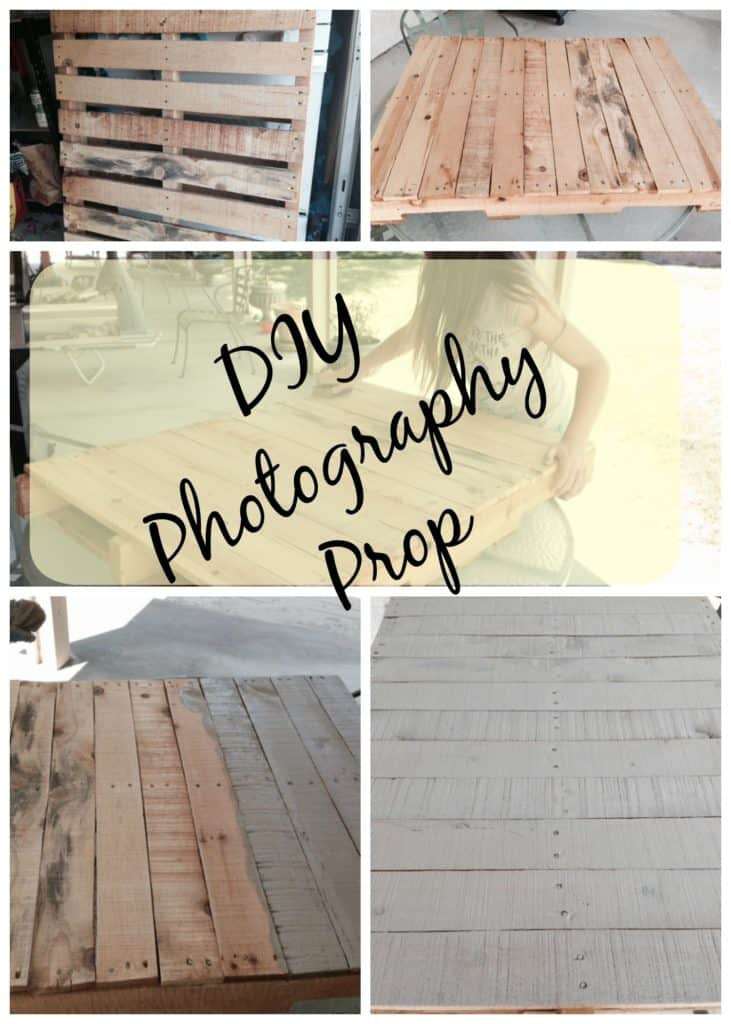 Easy DIY Pallet Backdrop Refinishing a Used Pallet