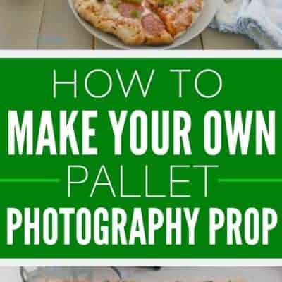 Pallet Backdrop: DIY Photography Prop