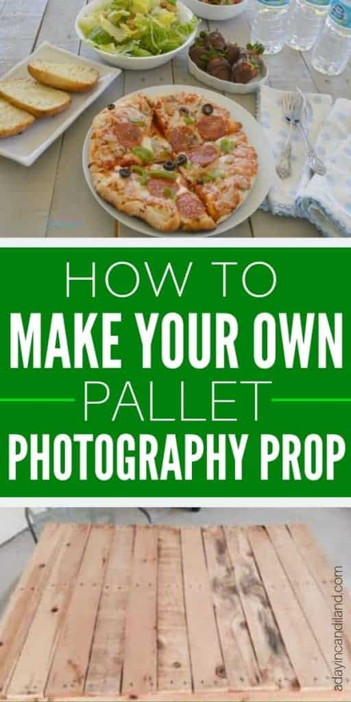 How to make your own Pallet Photography Prop