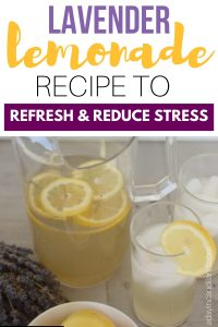 Lavender Lemonade Recipe to Refresh and Reduce Stress