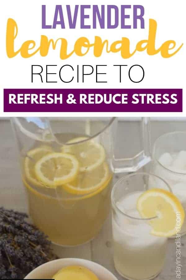 Lavender Lemonade Recipe to Refresh and Reduce Stress