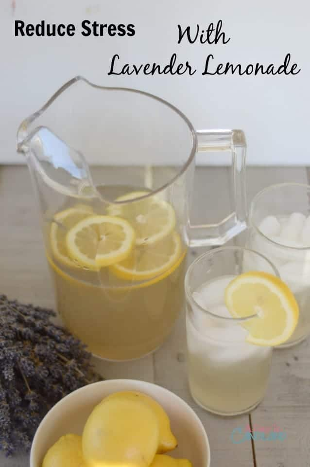Reduce Stress with Lavender Lemonade