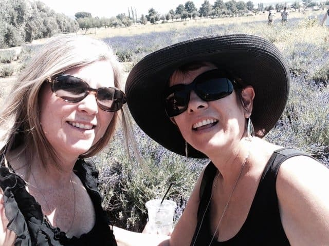 Candi and Eve in Lavender Fields