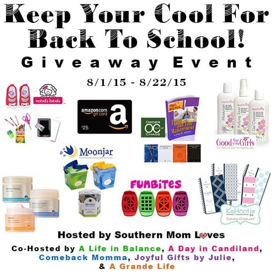 Back to School Giveaway Event