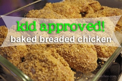Kid Approved Baked Chicken