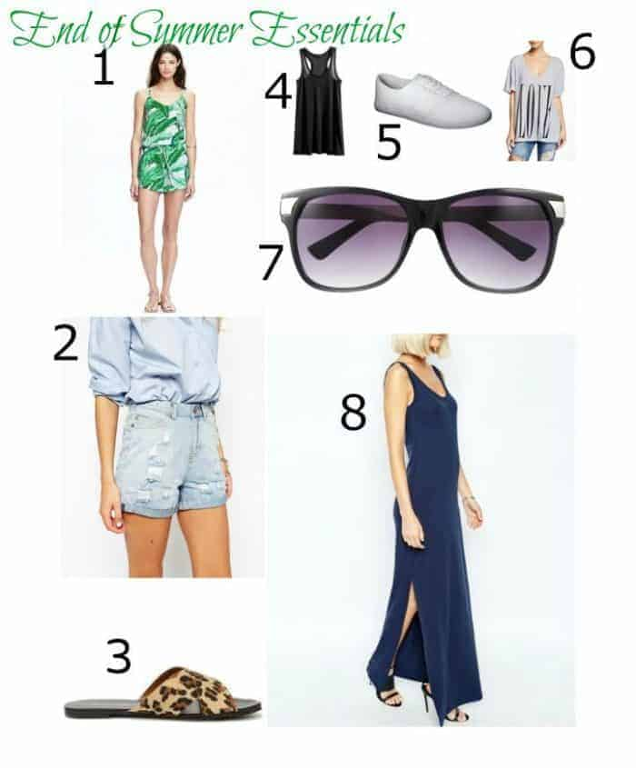 Summer Essential Clothing and Accessories