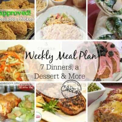 Weekly Meal Plan Week 1