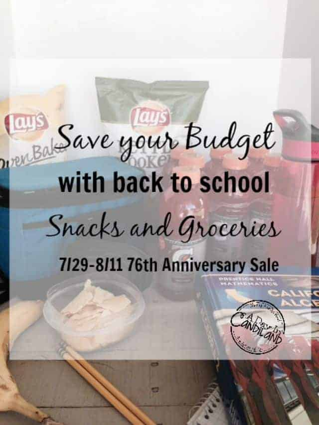 Save Your Budget with Back to School Savings