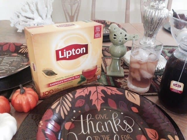 Lipton Table Setting
