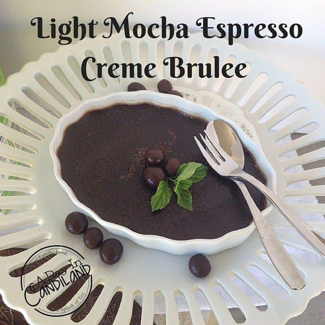 Light Mocha Espresso Creme Brulee