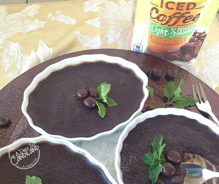 Reduced Calorie Mocha Espresso Creme Brulee