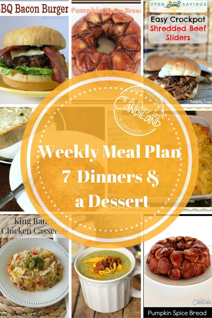 Weekly Meal Plan made easy #14