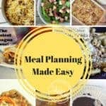 Weekly Meal Planning Made Easy #15