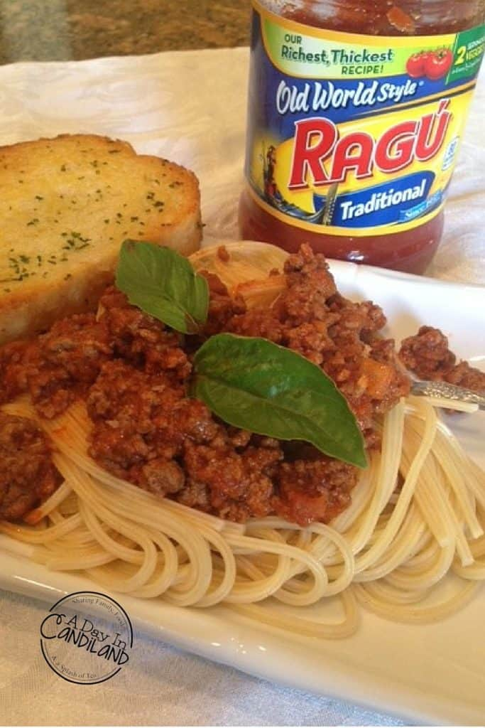 Our Family Tradition Spaghetti Recipe