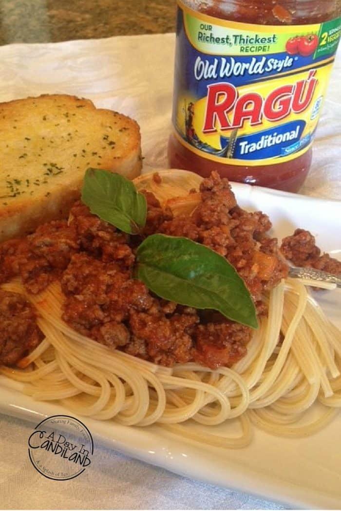 Our Family Tradition Spaghetti Recipe
