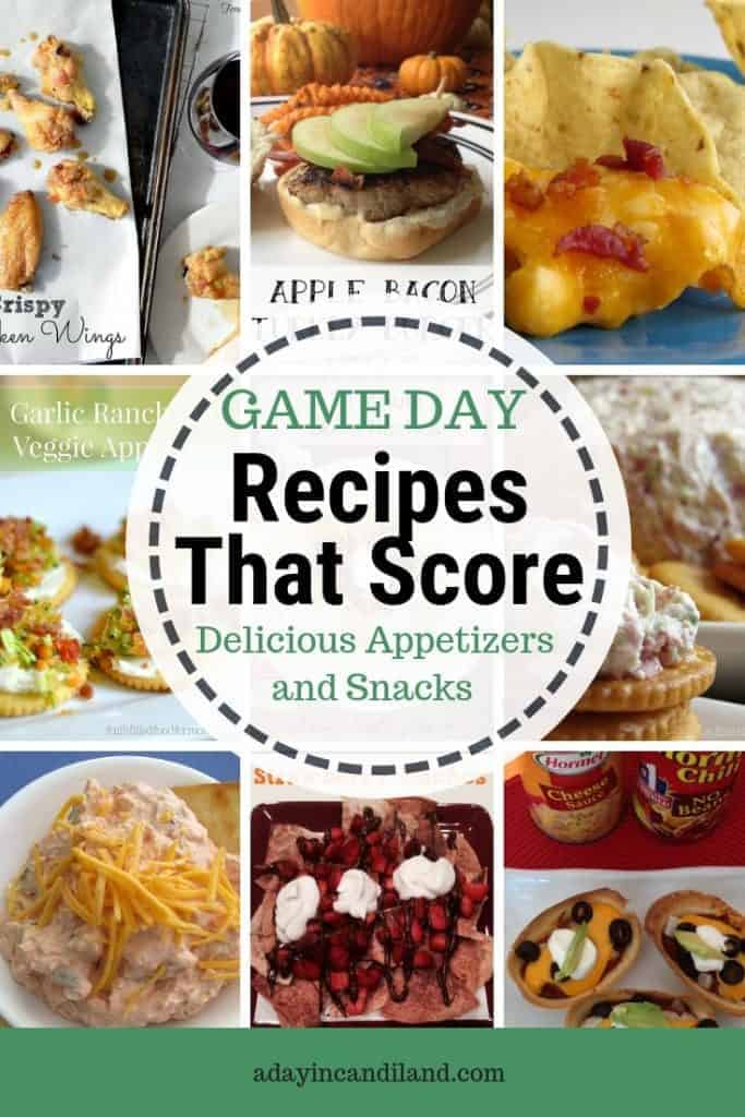Game Day Recipes that Score. Delicious appetizers and snacks