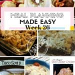 Weekly Meal Planning Made Easy 26