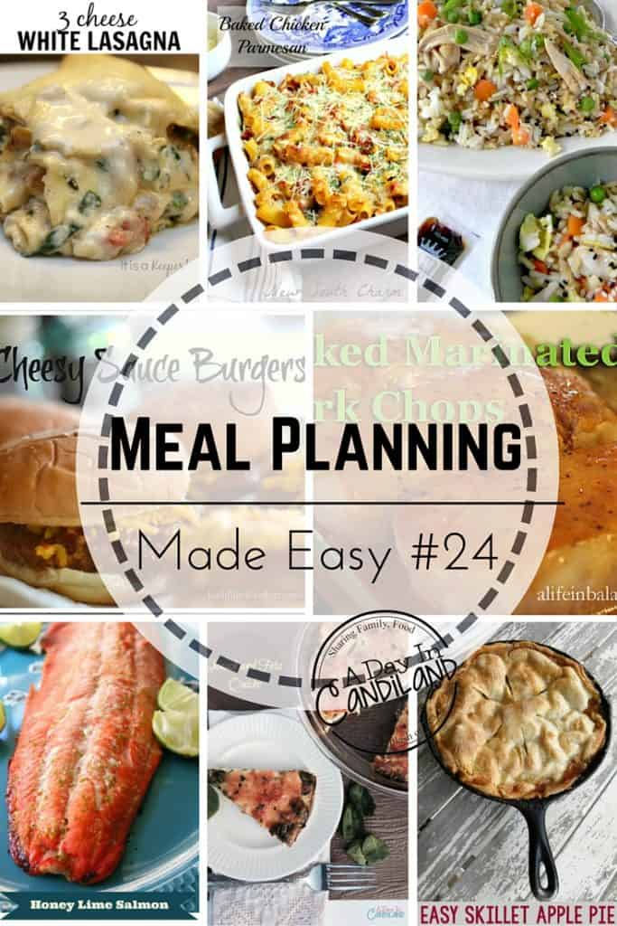 Meal Planning made easy week 24