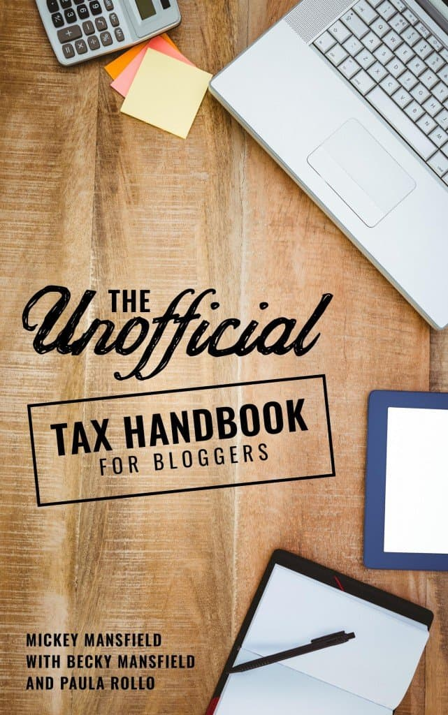 Preparing for Tax Day as a Blogger