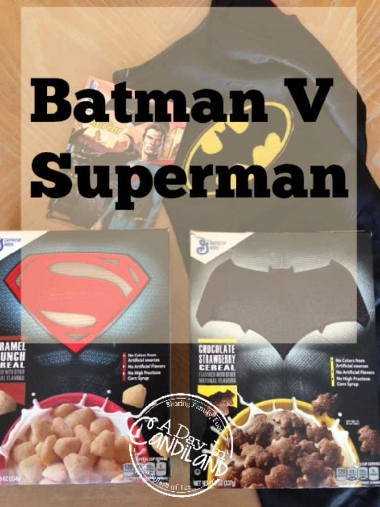 Batman V Superman Cereal Challenge