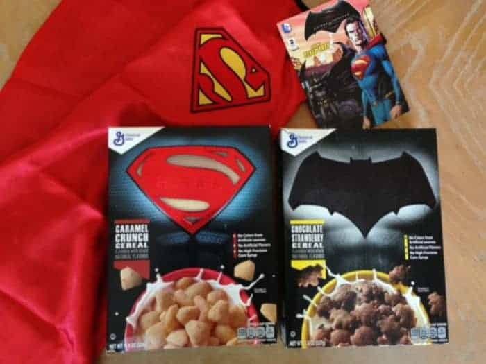 Superman Cereal with cape