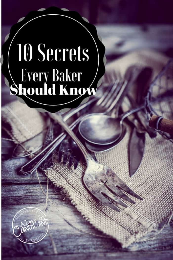 10 Secrets every baker should know