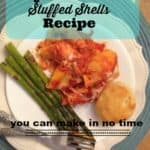 Easy Five Cheese Stuffed Shells Recipe