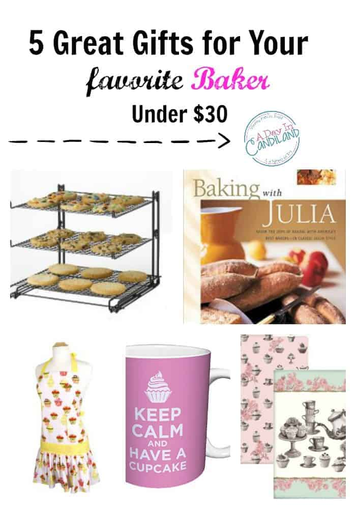 5 Great Gifts for your favorite baker collage.
