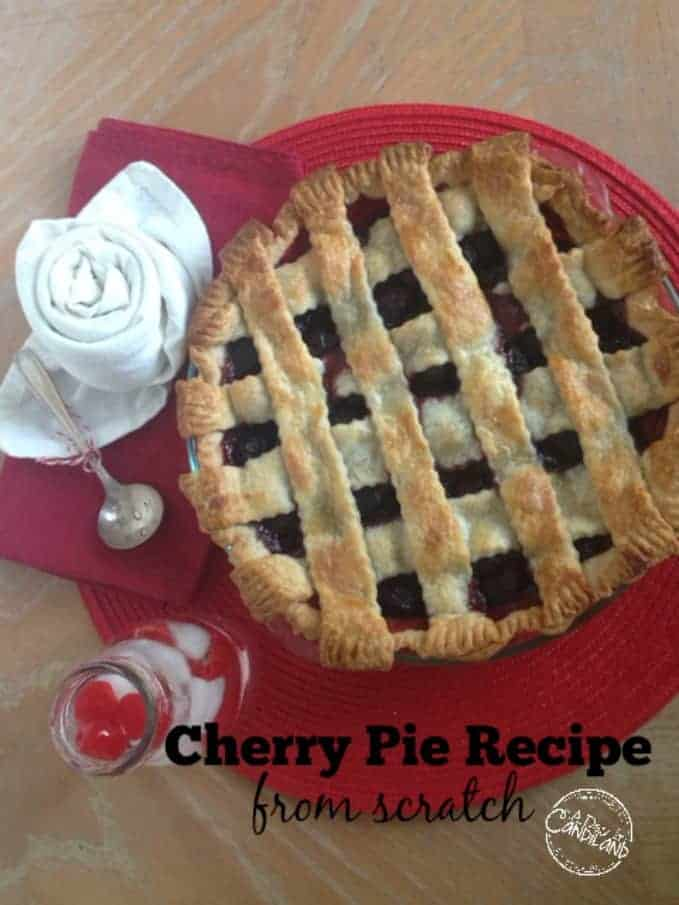 Cherry Pie Recipe from scratch