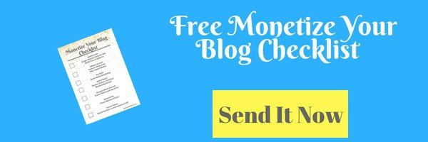 Monetize Your Blog in Post Button