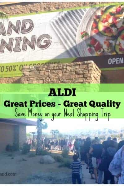 ALDI Great Prices Great Quality