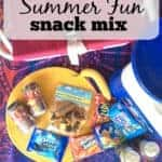 Schools Out Summer Fun Snack Mix