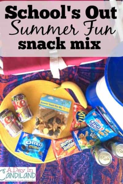 Schools Out Summer Snack Fun Mix