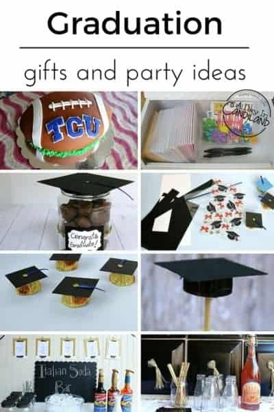 Graduation gifts party ideas