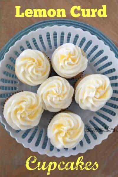 Sunny Lemon Curd Cupcakes