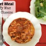 Skillet Meal Beefy Mac and Cheese