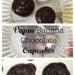 Vegan Banana Chocolate Cupcakes