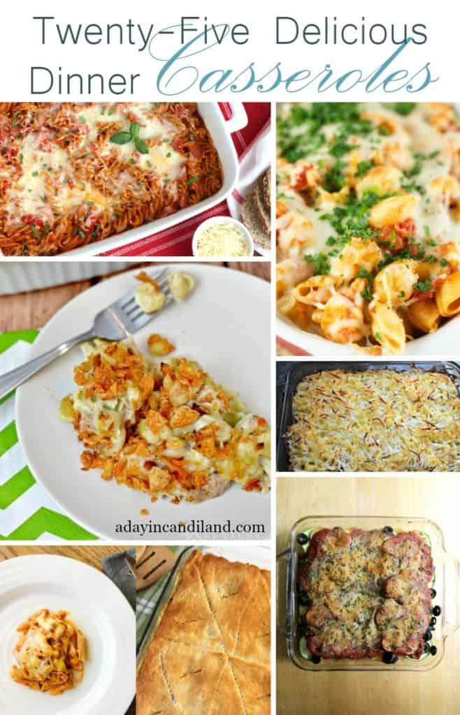 25 delicious dinner casseroles