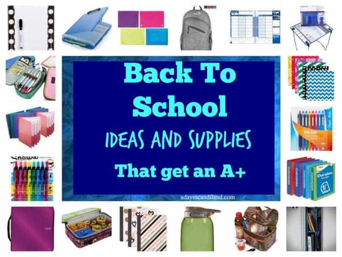 Amazon Back To School Supplies list