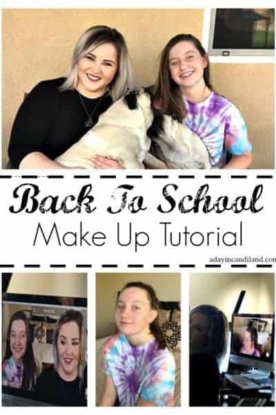 Back To School Beginning teen makeup tutorial