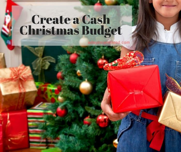 Create a Cash Christmas Budget