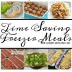 20  Time Saving Freezer Meals