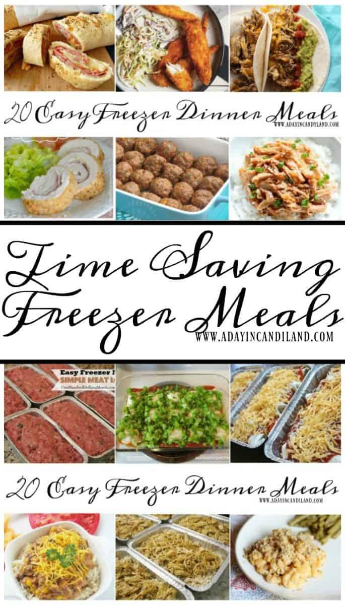 20 Time Saving Freezer Meals