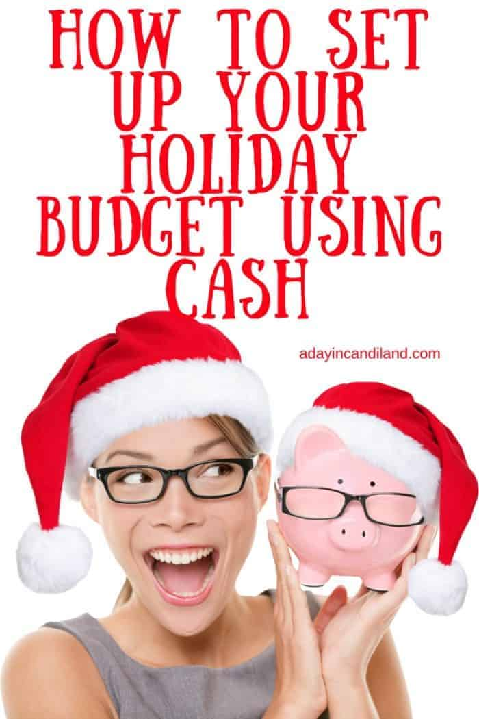 Set Up A Christmas Budget Using Cash