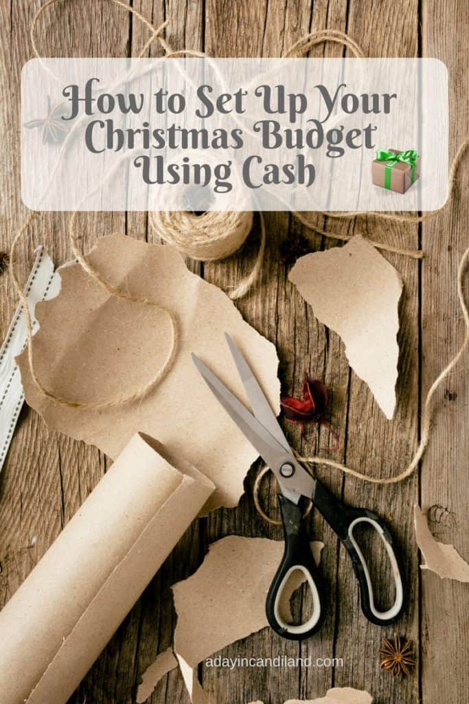 How to Set Up Your Christmas Budget Using Cash