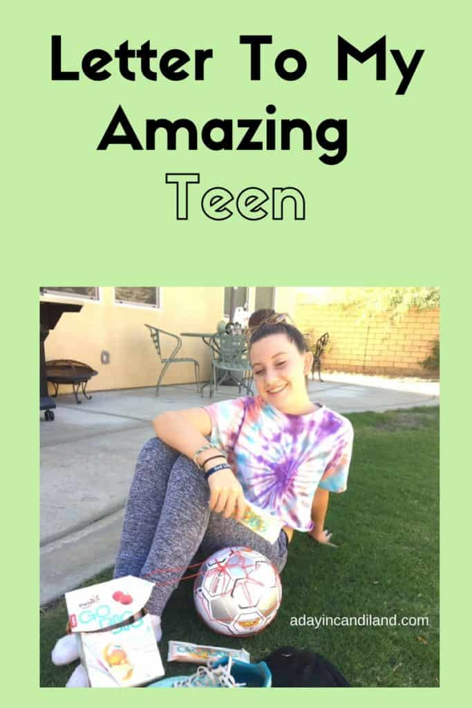 A letter to my amazing teen daughter #candiland