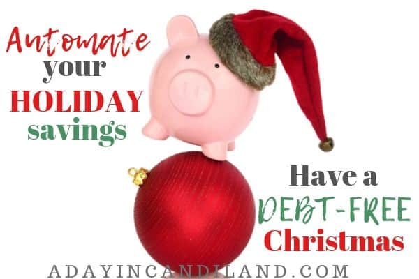 Automate your Christmas Savings