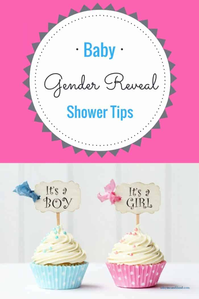 Gender Reveal Baby Shower Tips