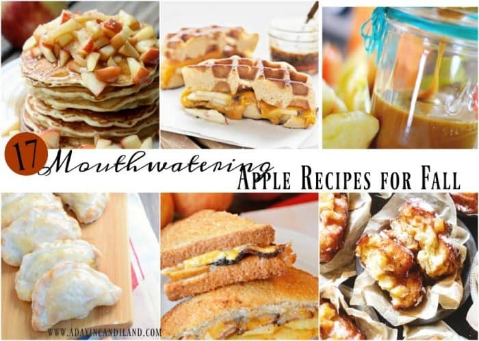 Mouthwatering apple recipes for fall 2